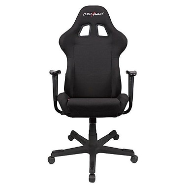 DXRacer® FD01-N, Office & Gaming Chair, High Back Race Inspired Design, Black