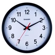 MZ Berger Spc961 Plastic Analog Wall Clock, Black