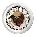 MZB WAC906 18in. Waltham Quartz Wall Clock With Rooster Dial