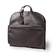 Clava Leather Colored Vachetta One Night Suiter Garment Bag; Vachetta Cafe