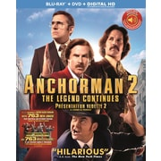 Anchorman 2: The Legend Continues (Blu-ray/DVD)