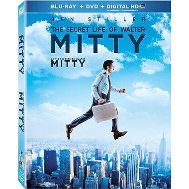 The Secret Life of Walter Mitty (Blu-ray/DVD)