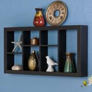 Wildon Home   Theda 24'' Display Shelf; Black