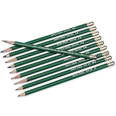 Kimberly Drawing Pencils (Set of 12); 2H