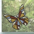 Brewster Home Fashions Butterfly Stained Appliqu  Window Sticker