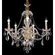 Elegant Lighting Alexandria 5 Light Chandelier; Chrome / Crystal (Clear) / Royal Cut