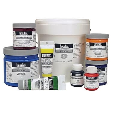 Liquitex Professional Acrylic Paint Jar; Transparent Raw Sienna