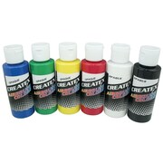 Createx Colors 2 oz Opaque Airbrush Paint Set