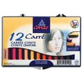 Conte Portrait Color Pastel Crayons (Set of 12)
