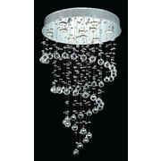 Elegant Lighting Galaxy  10 Light LED Chandelier; Elegant Cut