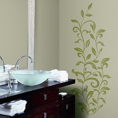 Room Mates Room Mates Deco 26 Piece Leaf Scroll Wall Decal