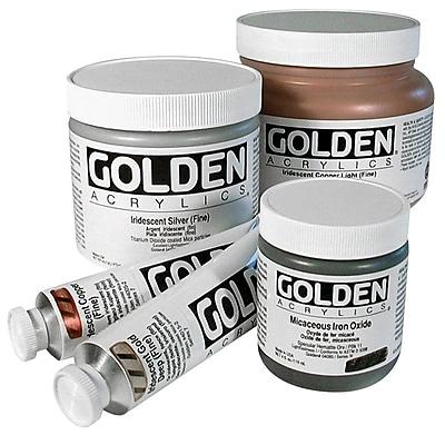 Golden Artist Colors 4 Oz Fluid Acrylic Color Paint; Hansa Yellow Light WYF078276262445