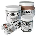 Golden Artist Colors 4 Oz Fluid Acrylic Color Paint; Nickel Azo Yellow