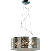 ET2 Inca 9 Light Drum Pendant; Polished Chrome