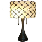 Warehouse of Tiffany Modern 22'' H Table Lamp with Drum Shade