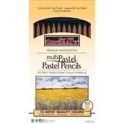 General MultiPastel Chalk Pencil (Set of 12)