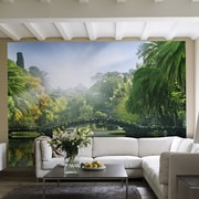 Brewster Home Fashions Ideal Decor Bridge in Sunlight Wall Mural