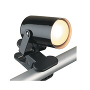 Lite Source Mini  Spot Light with Clamp; Black