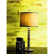 Lex Lighting Taupe Gray 31'' H Table Lamp with Drum Shade
