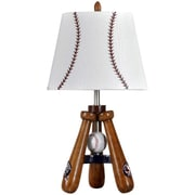 Style Craft Bat and Ball 24'' H Table Lamp with Empire Shade