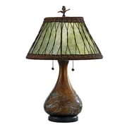 Quoizel Highland 25'' H Table Lamp with Empire Shade