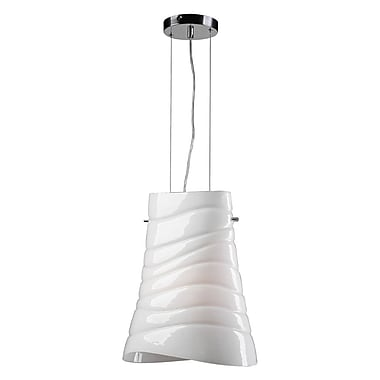 PLC Lighting Mandy 1-Light Pendant; Incandescent