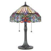 Quoizel Tiffany Connie 22'' H Table Lamp with Bowl Shade
