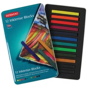 Derwent Inktense 12 Piece Block Color Set