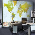 Brewster Home Fashions Ideal Decor Map Of The World Large Wall Mural