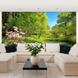 Brewster Home Fashions Ideal D cor Park in The Spring Wall Mural