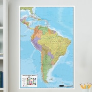 Brewster Home Fashions WallPops South America Whiteboard Wall Decal