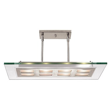 Access Lighting Aquarius 4 Light Kitchen Island Pendant; 47'' H x 30'' W x 12'' D