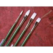 Princeton Artist Brush Long Handle Angular Bright Brush; 8