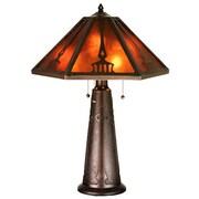 Meyda Tiffany Grenway 29'' H Table Lamp with Empire Shade