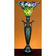 Meyda Tiffany Tulip 29'' H Table Lamp with Bell Shade