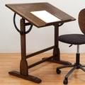 Studio Designs Vintage Wood Drafting Table; 34'' H x 42'' W x 30'' D