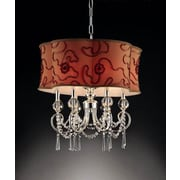 OK Lighting Amere 6-Light Drum Pendant