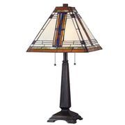 Wildon Home   Umi 25'' H Table Lamp with Square Shade