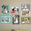Mona Melisa Designs Peel and Stick Wedding Frame Wall Decal