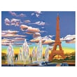 Reeves Paint By Numbers Large Eiffel Tower Painting