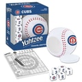 USAopoly MLB Baseball Yahtzee Games; Chicago Cubs