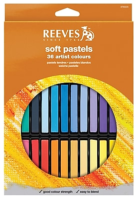 Reeves Soft Pastel Set (Set of 36) WYF078276466999