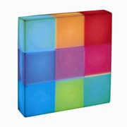 Lite Source Rubik 10'' H Table Lamp with Square Shade