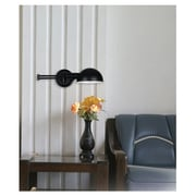 Wildon Home   Frye Swing Arm Wall Lamp; Oil Rubbed Bronze