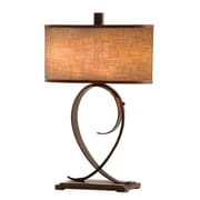 Kalco Rodeo Drive 31'' H Table Lamp with Drum Shade; Antique Copper