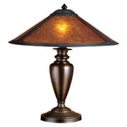 Meyda Tiffany Rustic Van Erp Mica 23'' H Table Lamp with Empire Shade