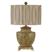 Crestview Carlyle 28'' H Table Lamp with Drum Shade