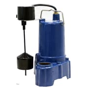 Power-Flo Pumps 1/2 HP Automatic Submersible Sump Effluent Pump