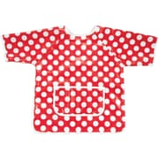 AM PM Kids! Dots Art Smock; Red