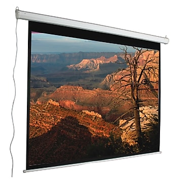 Mustang Aspect Ratio Matte White 100'' Electric Projection Screen